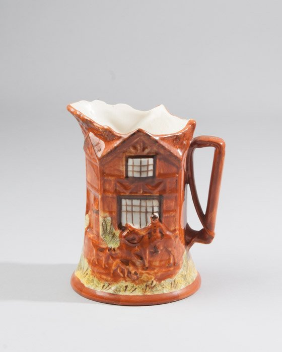 An English Cottage Ware Pottery Pitcher