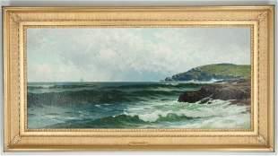 Alfred Thompson Bricher Oil on Canvas