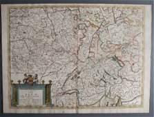 Antique European Map by Coronelli