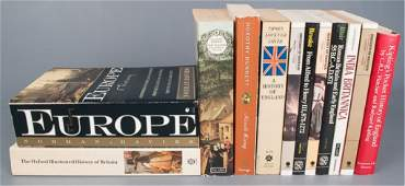 Collection of Twelve (12) History & Culture Books