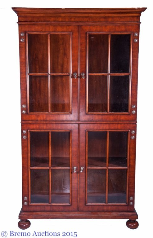 "Henredon ""Acquisitions"" Glass Front Hutch"