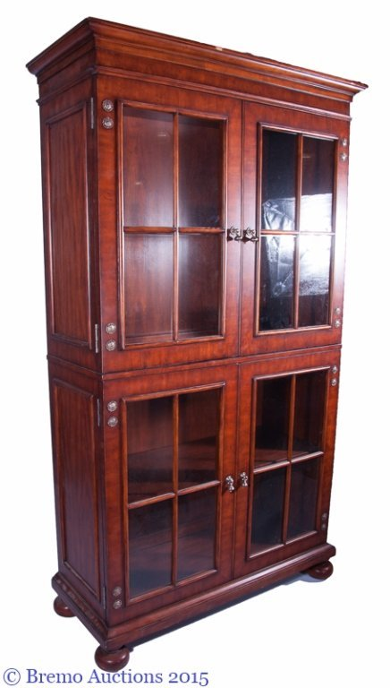 "Henredon ""Acquisitions"" Glass Front Hutch - 6"