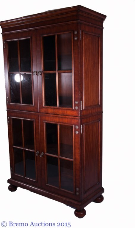 "Henredon ""Acquisitions"" Glass Front Hutch - 7"