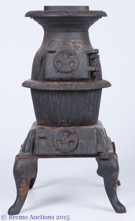 Sears Roebuck Pot Belly Wood Stove - Roebuck Pot Belly Wood Stove