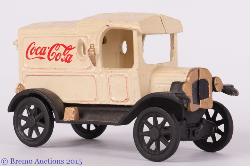 Coca Cola Cast Iron Truck, Vintage