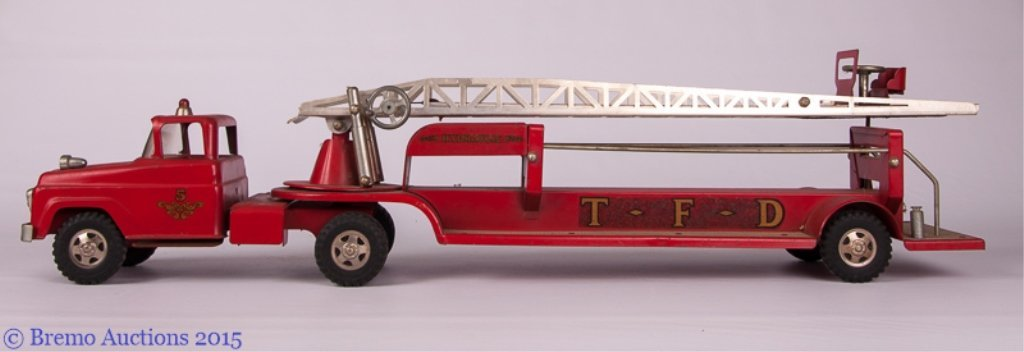 Tonka Hook and Ladder Fire Truck