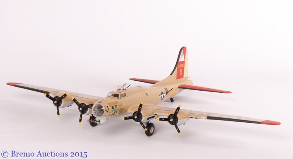 Limited Edition Model of a B-17 Flying Fortress