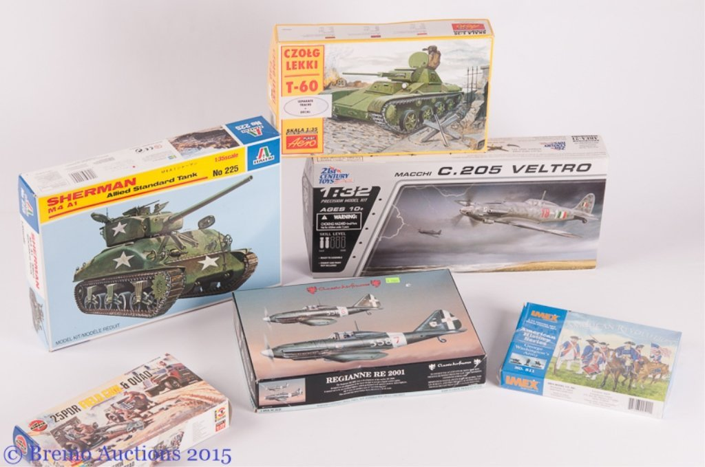 Model Kits Collection of Six (6)