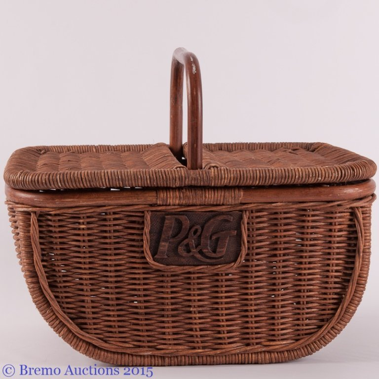 P&G Wicker Basket