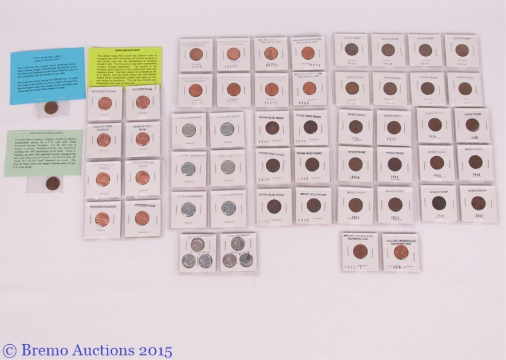 Various Penny Sets Collection