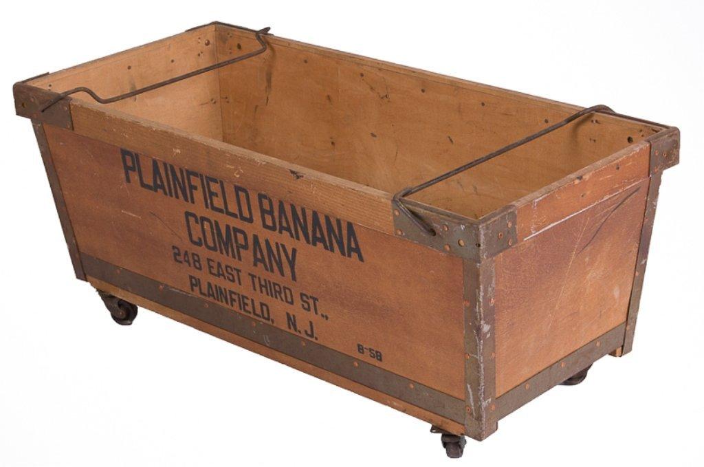 Plainfield Banana Cart