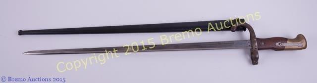L 19 C French Sword Bayonet