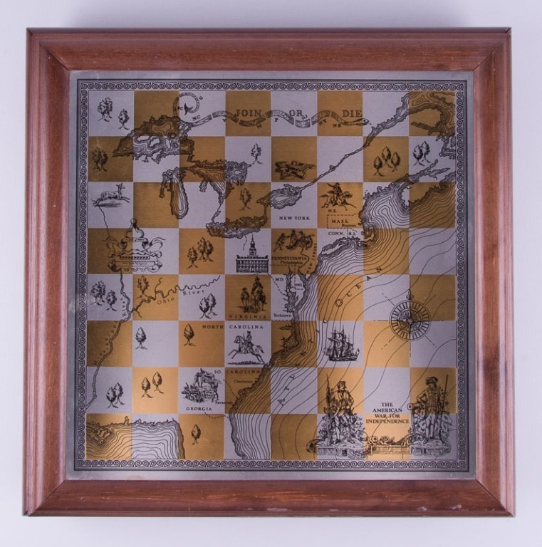 Franklin Mint Revolutionary War Chess Set - 4