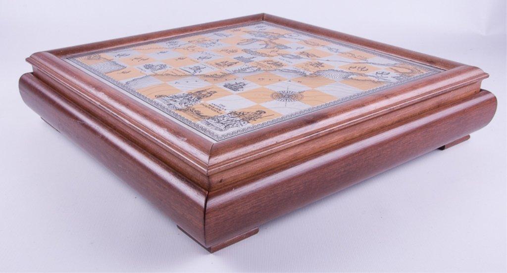 Franklin Mint Revolutionary War Chess Set - 5