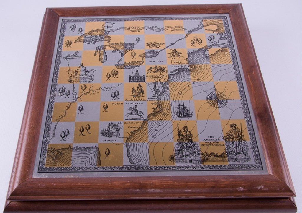 Franklin Mint Revolutionary War Chess Set - 6