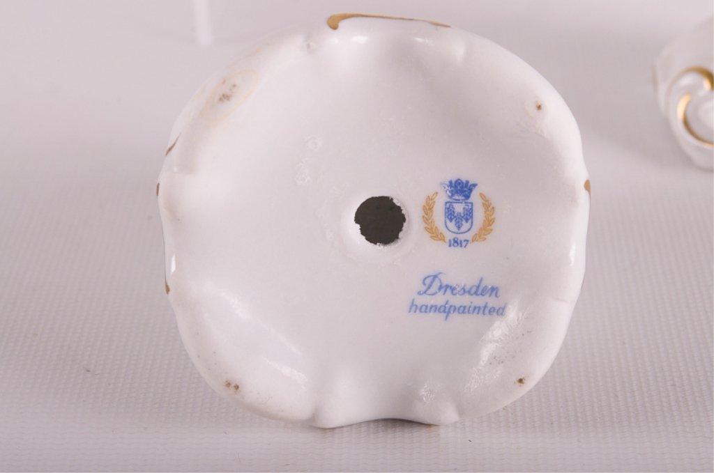 Dresden Porcelain, Lefton China, & Others, Five - 3