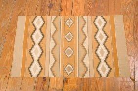 "Navajo Flat Weave 2'3"" X 3'11"" Rug"