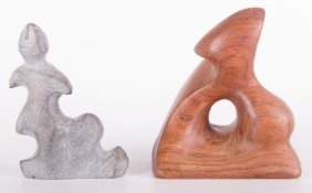 Abstract Sculptures, Two (2)