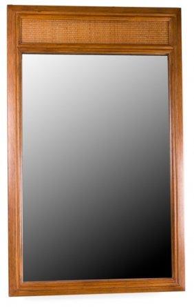 Drexel Mid-century Walnut Mirror