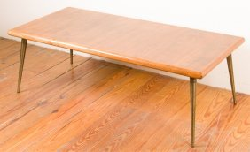 Hand-crafted Mid-century Coffee Table