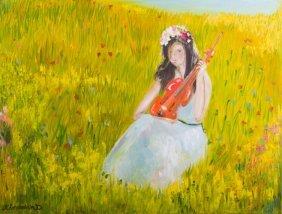 Kheyradolin Dzhaffarov Oil On Canvas