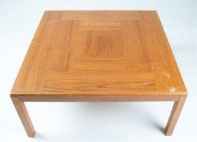Bent Silberg Mobler Teakwood Coffee Table