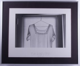 "Eva Rubinstein ""nightgown"" Framed Print"