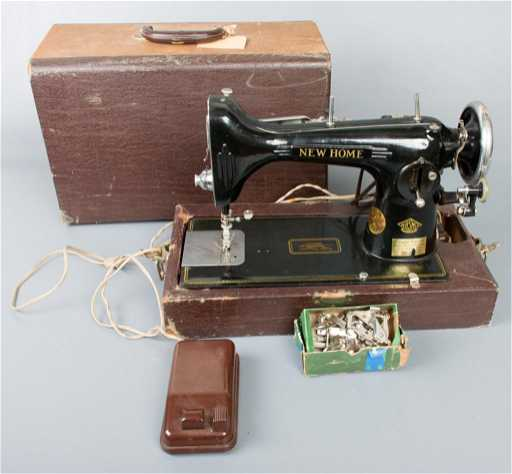 Vintage New Home Sewing Machine Beauteous New Home Sewing Machine Antique