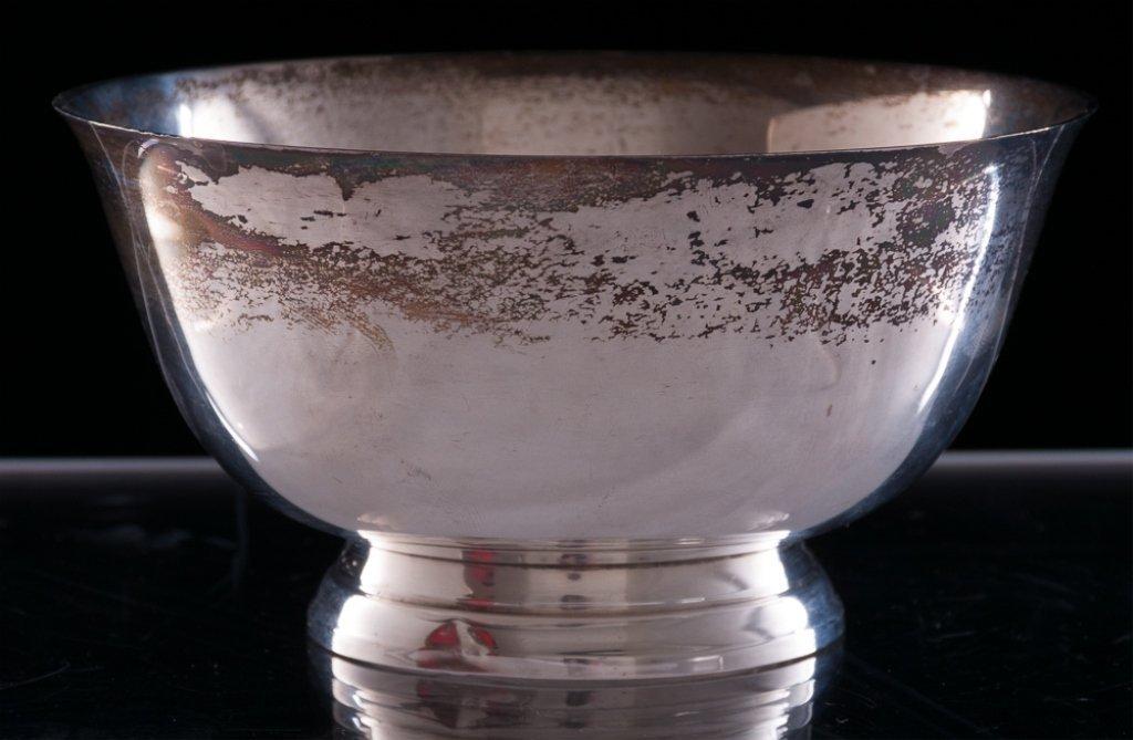 Sterling Silver Paul Revere Repro Bowl