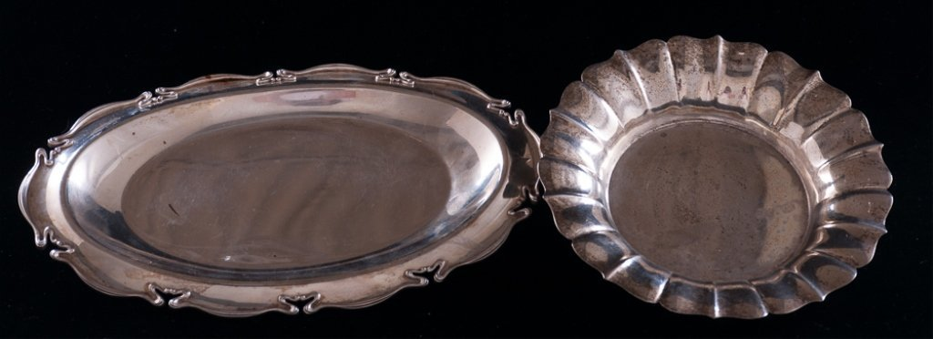 Sterling Silver Trays, Two (2)