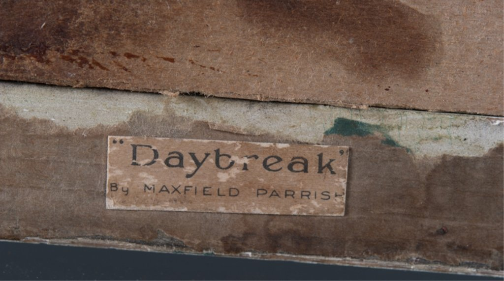 "Maxfield Parrish ""Daybreak"" Print, Framed - 4"