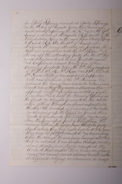 Civil War Missouri Volunteers 1864 Documents - 7