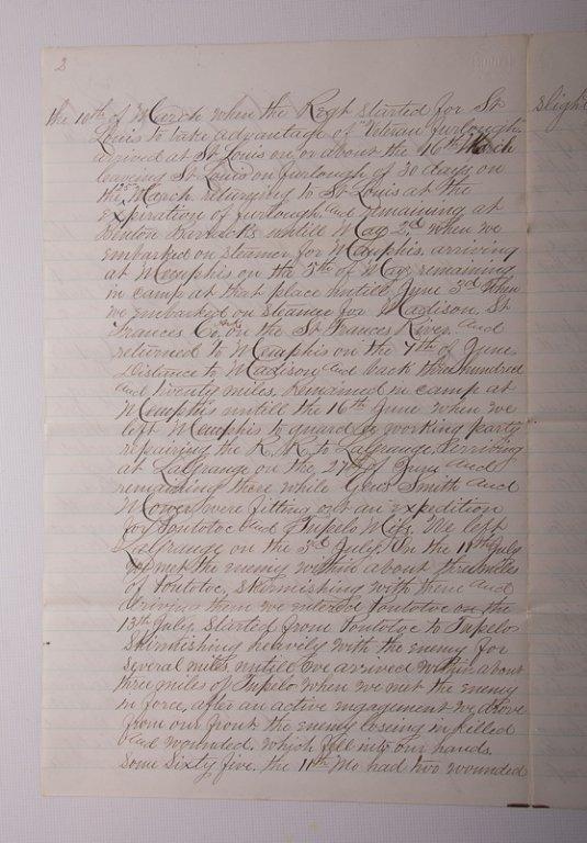 Civil War Missouri Volunteers 1864 Documents - 9