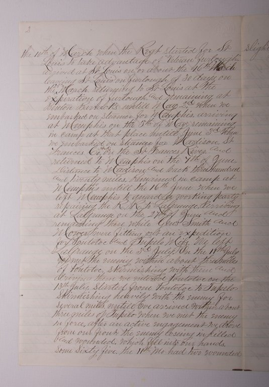 Civil War Missouri Volunteers 1864 Documents - 9