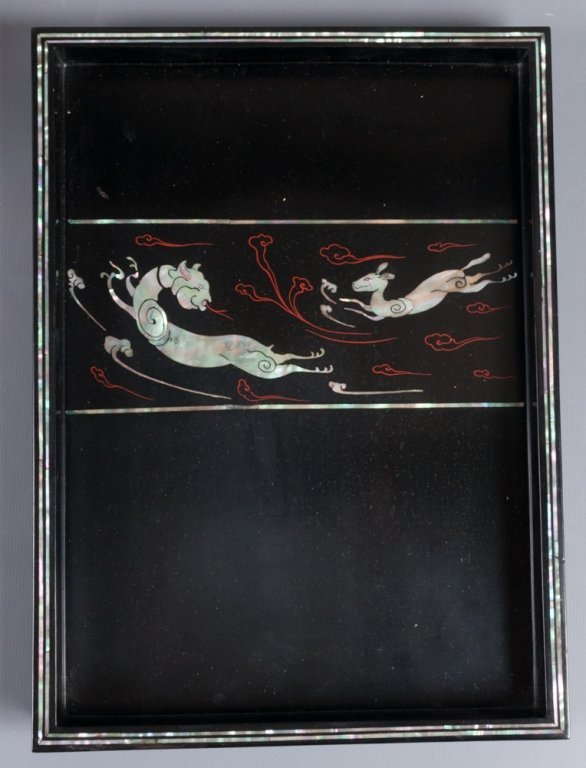 Korean Mother-of-Pearl Inlay Jewelry Box - 3