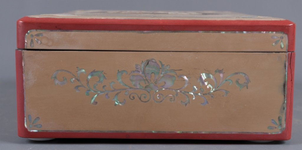 Korean Mother-of-Pearl Inlay Jewelry Box - 5