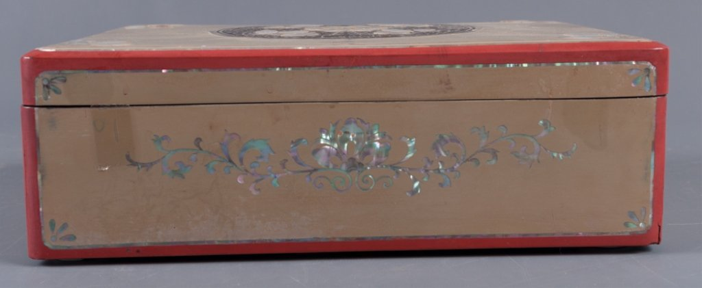 Korean Mother-of-Pearl Inlay Jewelry Box - 6