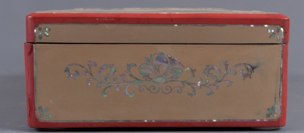 Korean Mother-of-Pearl Inlay Jewelry Box - 7