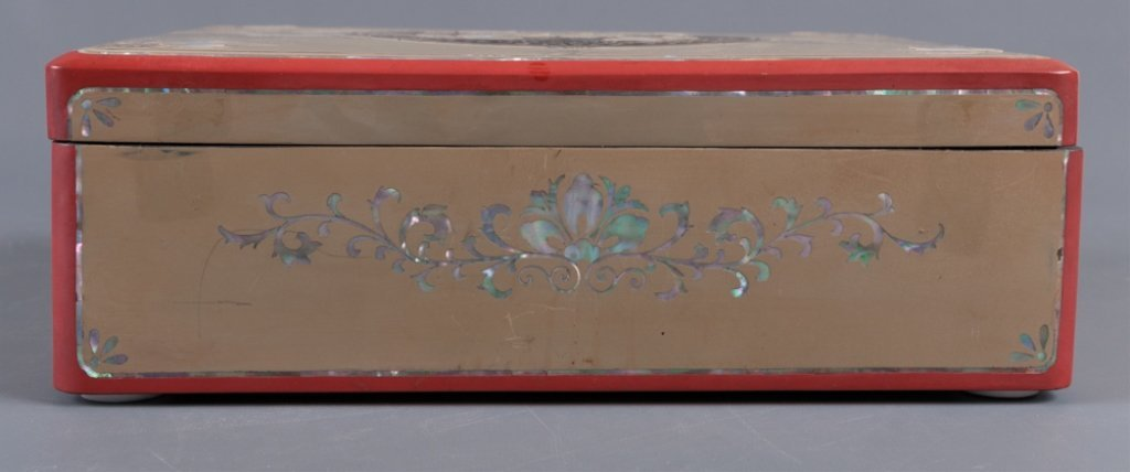 Korean Mother-of-Pearl Inlay Jewelry Box - 8