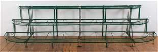 Iron Planter Shelf Stands Group