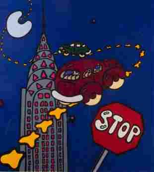 """The Chrysler Building"" 1981 Serigraph"