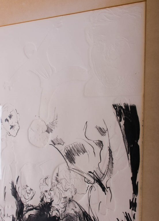 """Edward McCluney Signed Etching """"Day Dreaming"""" - 3"""