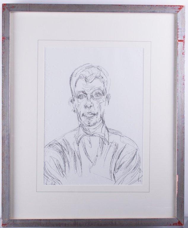 Alberto Giacometti Self Portrait Lithograph - 2