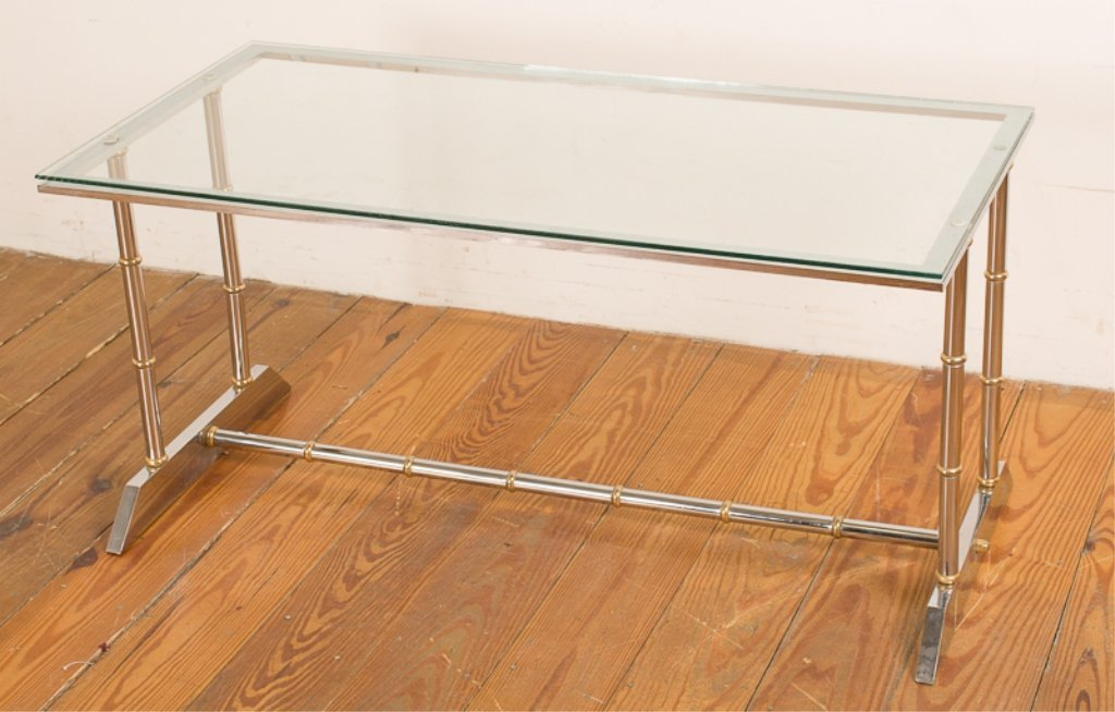 Maison Jansen Style Modern Coffee Table - 2