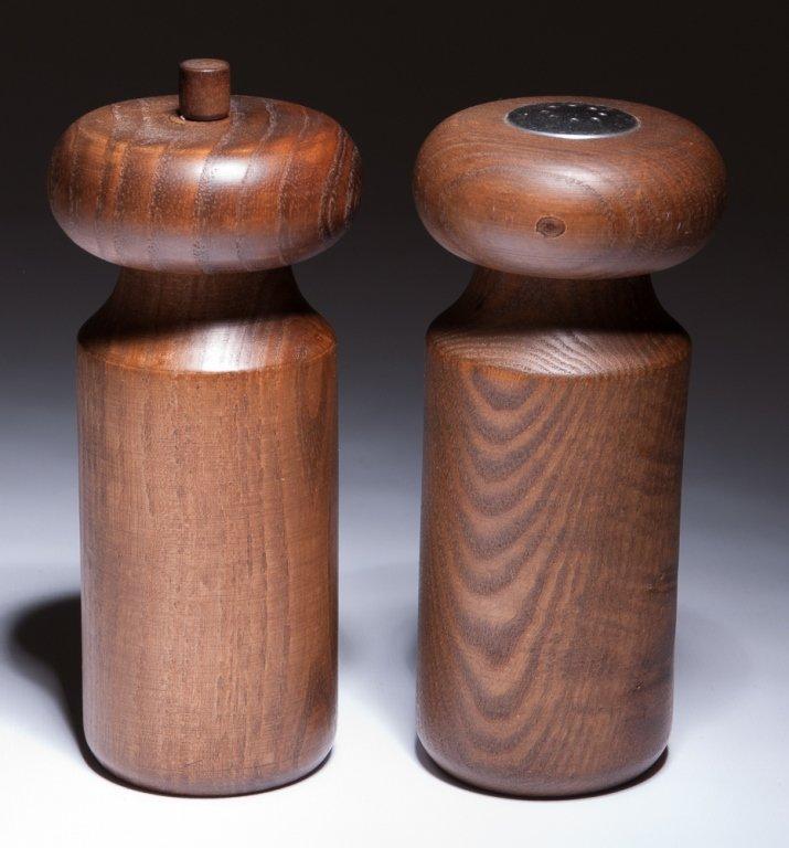 Copco Michael Lax Wood Salt & Pepper Shakers
