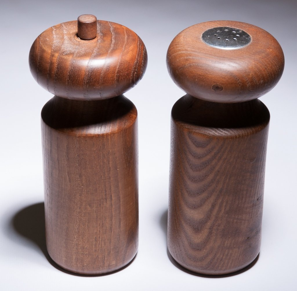 Copco Michael Lax Wood Salt & Pepper Shakers - 2