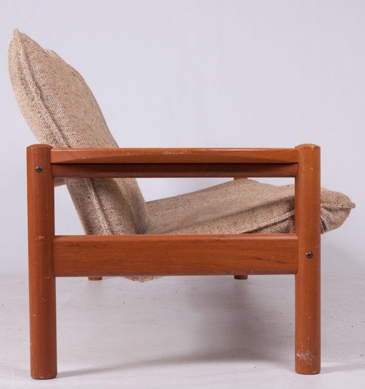 Domino Mobler Danish Teak & Tweed Couch - 5