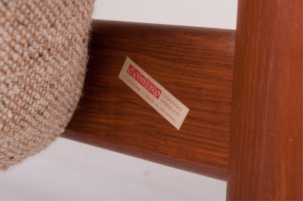 Domino Mobler Danish Teak & Tweed Couch - 7