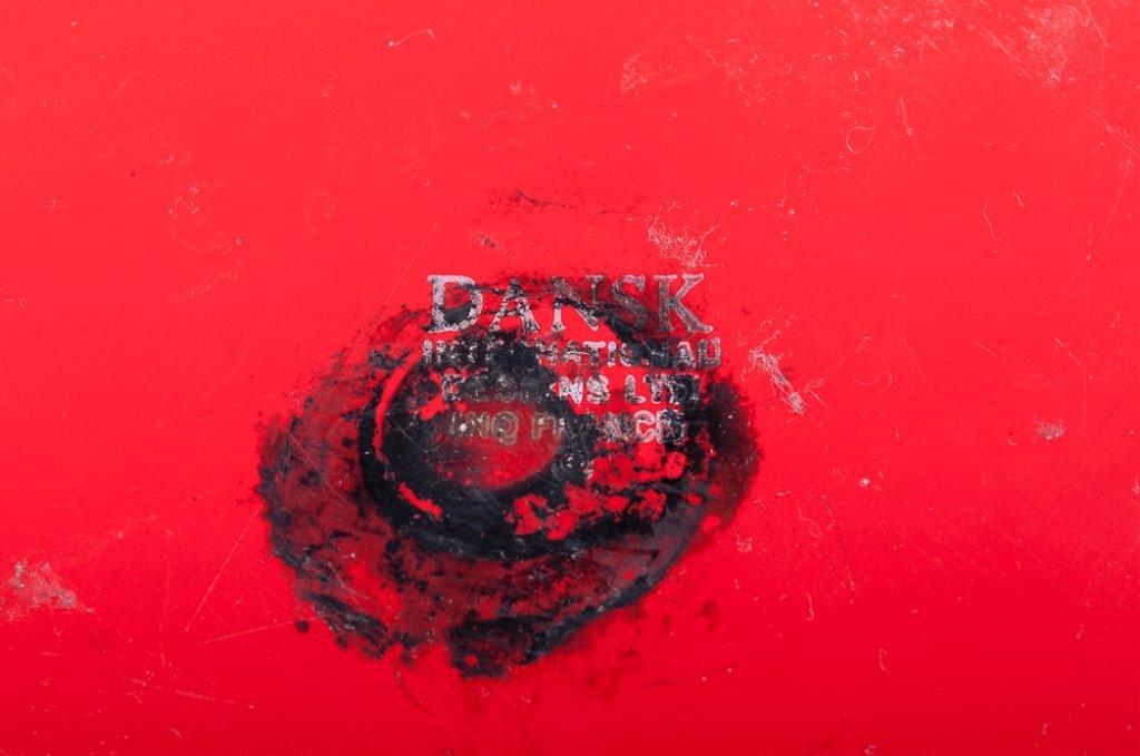 Dansk Kobenstyle Modern Red Enamel Pot w/ Lid - 5