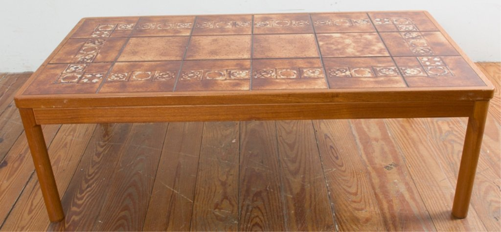 Trioh Danish Teak Tile Top Table - 2